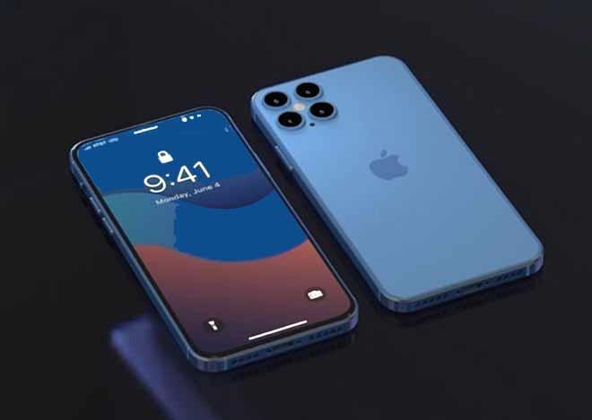 iPhone 12 biru 2020