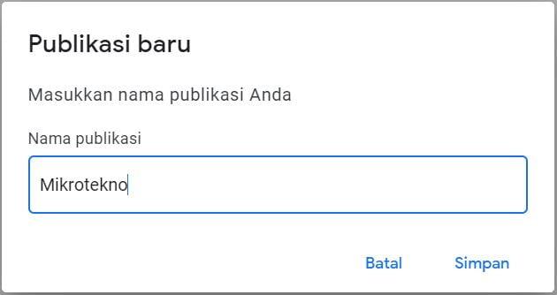 Daftar Google News